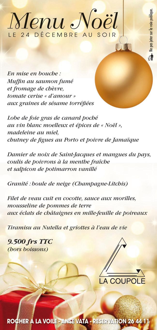 Les Menus De Fin D Ann 233 E Resto Nc Les Restaurants En