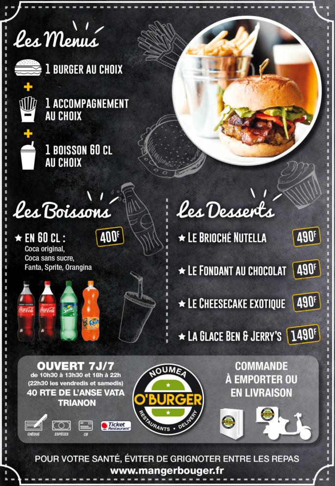Photo du restaurant O'Burger à noumea, Nouvelle-Calédonie